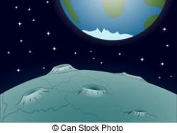 Lunar clipart moon surface