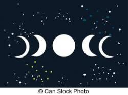 Eclipse clipart moon phase