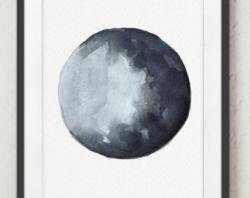 Lunar clipart silver