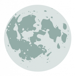 Lunar clipart simple