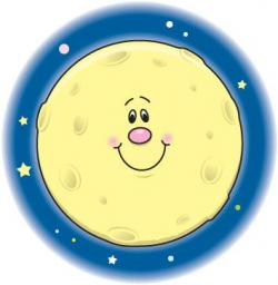 Lunar clipart smiley