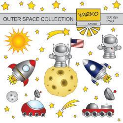 Lunar clipart space