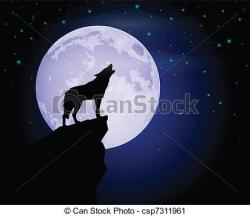 Lonely clipart moonlight