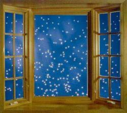 Night Sky clipart night window
