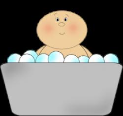 Bathtub clipart cute