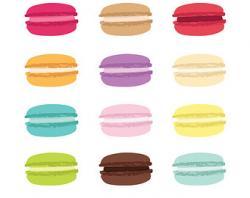 Macaron clipart