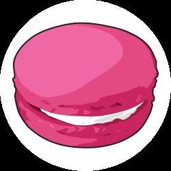 Macaron clipart cartoon