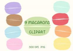 Macaron clipart cute