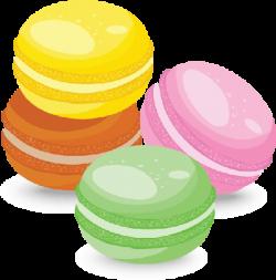 Macaron clipart transparent