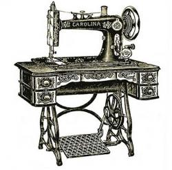 Machine clipart antique