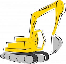 Excovator clipart construction equipment