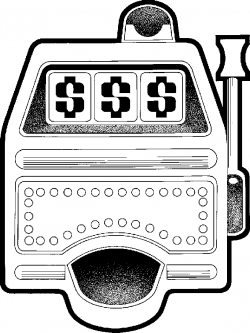 Machine clipart black and white