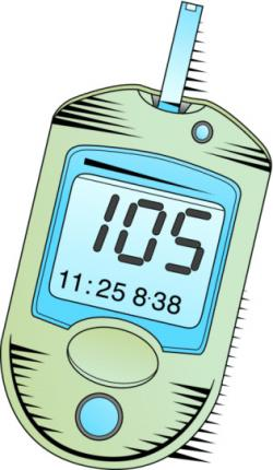Machine clipart blood sugar