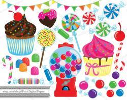 Gumball clipart swirl lollipop