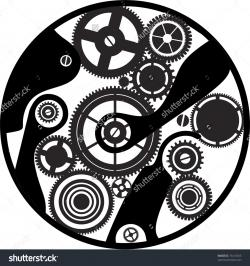 Clockworks clipart mechanical engineering