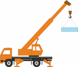 Machine clipart construction crane