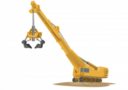 Crane clipart cartoon