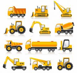 Machine clipart construction vehicle