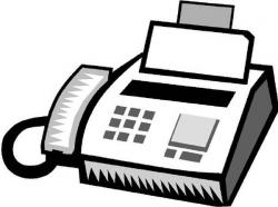 Machine clipart fax