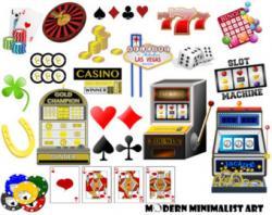 Poker clipart vegas