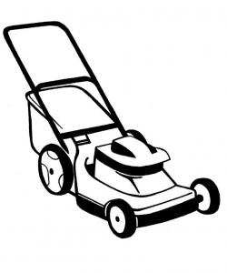 Machine clipart lawn