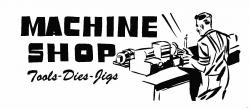 Machine clipart machine shop