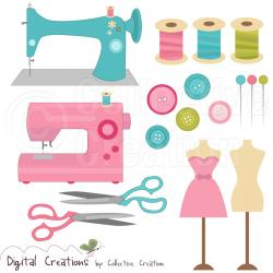 Machine clipart sewing supply