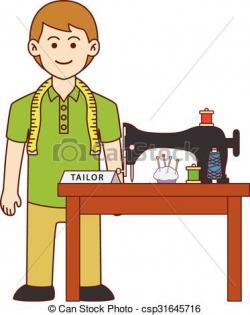 Man clipart tailor
