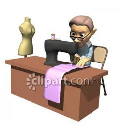 Sewing Machine clipart tailor