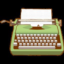 Typewriter clipart transparent