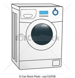 Machine clipart washing machine