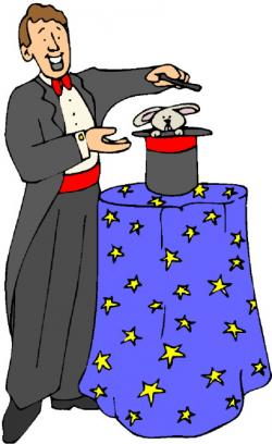 Magician clipart magic show