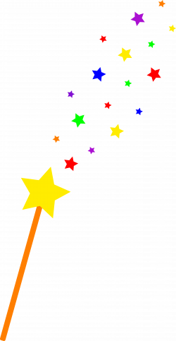 Wizard clipart magic wand