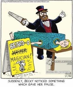 Magician clipart comic