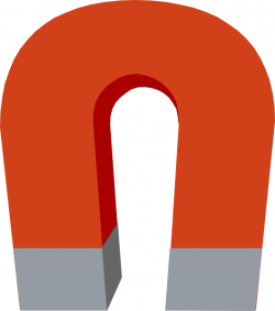 Magnetism clipart horseshoe magnet