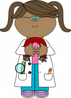 Magnetism clipart kid scientist