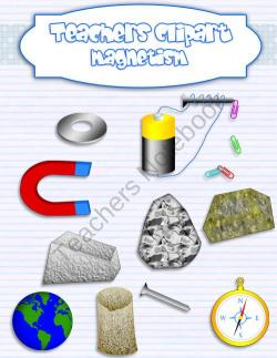 Magnetism clipart teacher