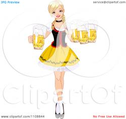 Maiden clipart maid