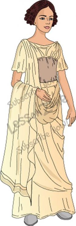 Maiden clipart roman woman
