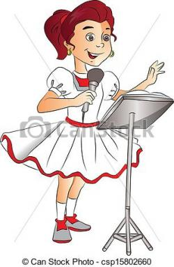 Singer clipart singing competition