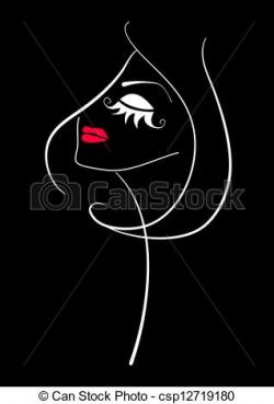 Makeup clipart abstract