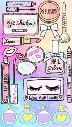 Makeup clipart girly wallpaper