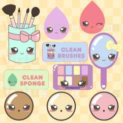 Makeup clipart kawaii