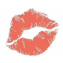 Drawn kisses kiss mark