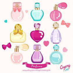 Makeup clipart perfume