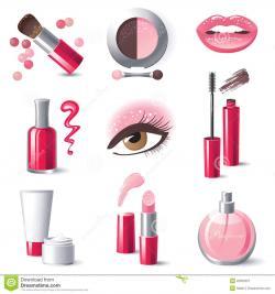 Makeup clipart royalty