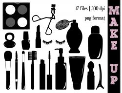 Perfume clipart silhouette