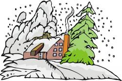 Cold clipart snowy weather