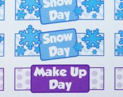 Makeup clipart snow day