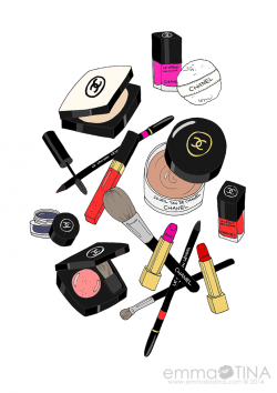 Chanel clipart makeup